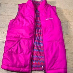 Reversible Columbia girls vest